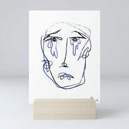 sad Mini Art Print
