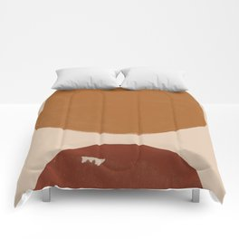 Burnt Orange Sun, New Boho Comforters