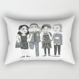 Riverdale - Archie, Veronica, Betty, Jughead Rectangular Pillow