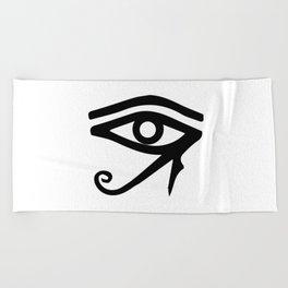 The Eye of Ra Beach Towel