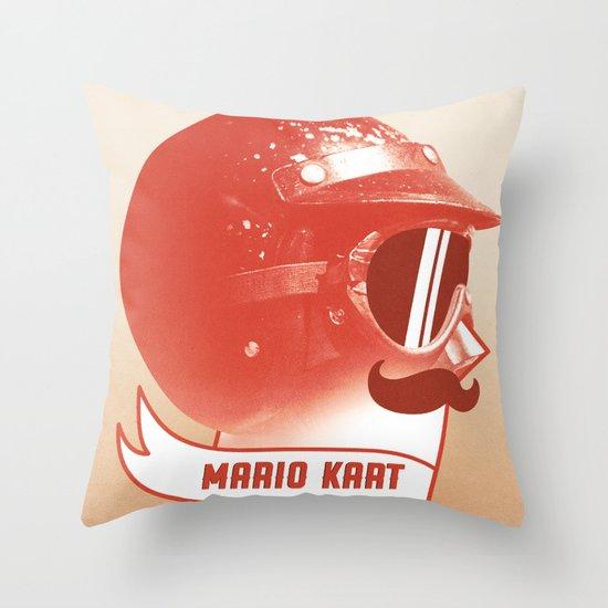 Mario Kart Throw Pillow