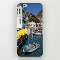 boats iPhone & iPod Skins featuring Boats by Sumii Haleem