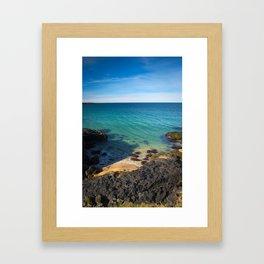Skarðsvik Beach I Framed Art Print