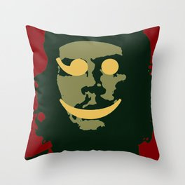 Che Emoticomunist Emoji Pop Art Protest Throw Pillow