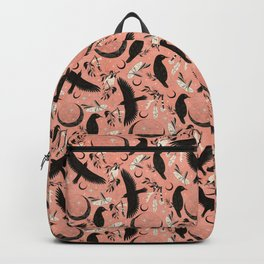 Raven Tarot Blue Backpack