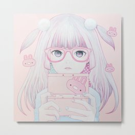 Gamer Girl 4 Metal Print