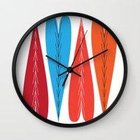 valentines Wall Clocks featuring Tall Valentines by KatieKatherine