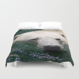 Polar bear's delight Duvet Cover