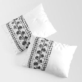 Crochet Impressions: LEAVES Pillow Sham