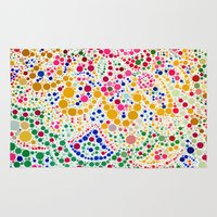 confetti Area & Throw Rugs featuring Confetti by Love2Snap
