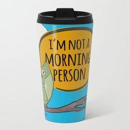 Not a Morning Person Metal Travel Mug
