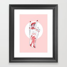 Lick Framed Art Print
