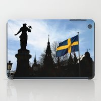 stockholm iPad Cases featuring Stockholm by Mark Hill