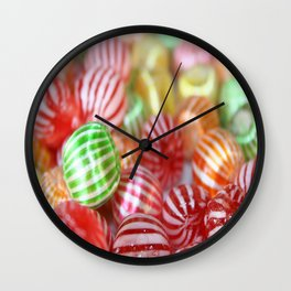 Sugar Candy Confectionary Wall Clock