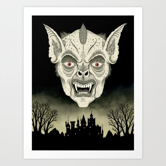The Undead Art Print