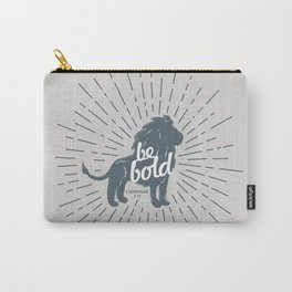 Be Bold Theme [gray] Carry-All Pouch