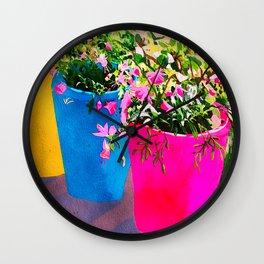 Bright planters Wall Clock