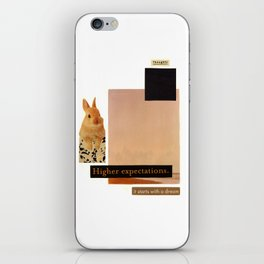 It Starts With A Dream iPhone Skin