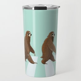 Sloth The Abbey Road in Green Travel Mug