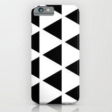 Sleyer Black on White Pattern Slim Case iPhone 6s