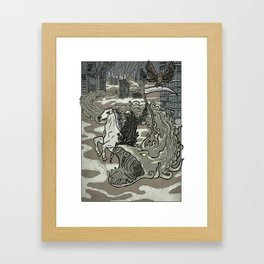 Widespread Death on Earth Framed Art Print