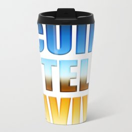CUIN TEL AVIV Travel Mug