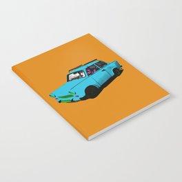 Trabant blue pop Notebook