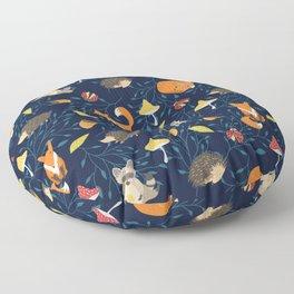 Magic forest Floor Pillow