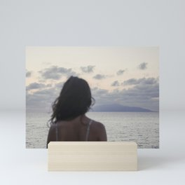 The island and you Mini Art Print