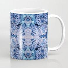 Frozen floral, nature, woodland, hippie, mandala, psychedelic Mug