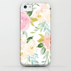 Floral 02 Slim Case iPhone 5c