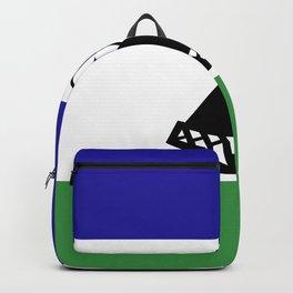 Lesotho flag emblem Backpack