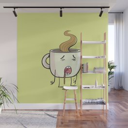cup of morning coffee Wall Mural