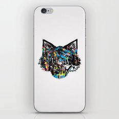 The Creative Cat (color varient) iPhone & iPod Skin