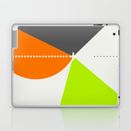 Spot Slice 02 Laptop & iPad Skin