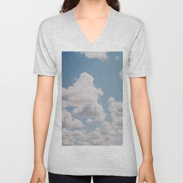 summer clouds iv Unisex V-Neck