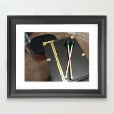 Beat Your Heart Out Framed Art Print
