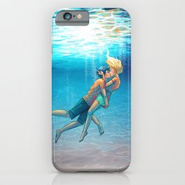 Percy Jackson - Percabeth - Underwater Kiss iPhone Case