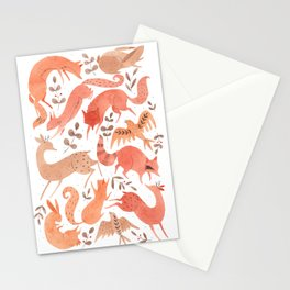 Wild Beasts Stationery Cards
