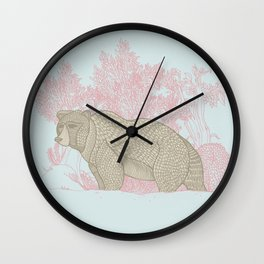 Bear! Wall Clock