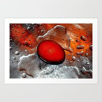 egg Art Prints featuring egg by  Agostino Lo Coco