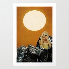 sunny Art Print