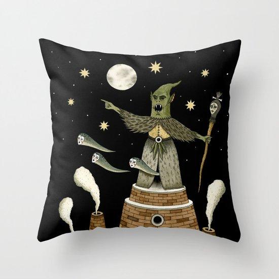 A Malevolent Decree  Throw Pillow