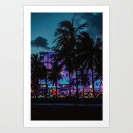 Miami By Night | Fine Art Travel Photography Art Print