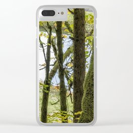 Canal Through the Trees Clear iPhone Case