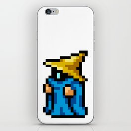 16-Bit Black Mage iPhone Skin