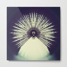 Geometric Art - Life'o CLOCK Metal Print