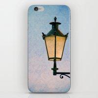 lantern iPhone & iPod Skins featuring lantern by Claudia Drossert