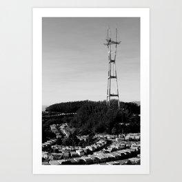Cityscape No.2 Art Print