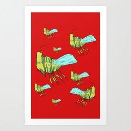 Buzz Buzz Art Print